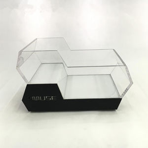 PMMA Wine Holder / Plexiglass Wine Bottle Display Rack pictures & photos