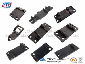 Qt400-15 Tie Plate for Railroad System pictures & photos