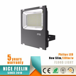 100W Outdoor Lighting Ultra Slim LED Floodlight with Philips Driver pictures & photos