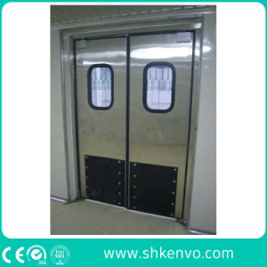Industrial Impact Traffic Swinging Door with Vision Panel pictures & photos