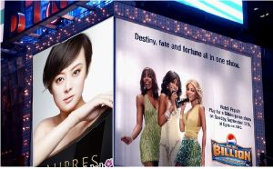 Digital Printing Soft Backlit Fabric Display pictures & photos