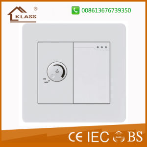 Electrical One Gang Switch with Fan Speed Controller pictures & photos