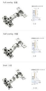 26mm Two Way Hinge Aciton Slide on Mini Hinge pictures & photos
