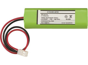 Rechargeable Li-ion 3.6V/4.8V LiFePO4/Ni-CD Battery for Emergency Light pictures & photos
