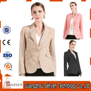 Fashion Style Office Ladies Jacket of Tr Fabric pictures & photos