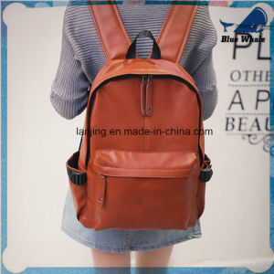 Bwf1-221 Fashionable Girls′ School Bag, Solid Color pictures & photos