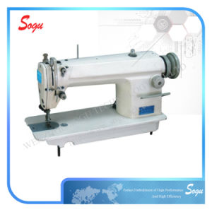 Single Needle Flatble Shoe Lockstitch Sewing Machine Reply Within 12 Hours pictures & photos