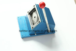 D-010 90*55mm manual square die business Card Cutter machine pictures & photos