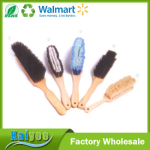 Economy Curved Handle Steel Wire Brush with Plastic or Wood Handle pictures & photos