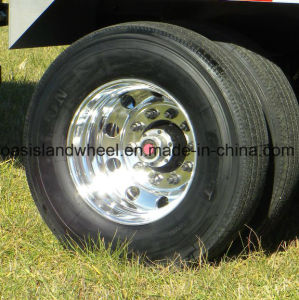 Truck Tyre (11r22.5) with Aluminum Rim (22.5X8.25) Assembly Wheel pictures & photos