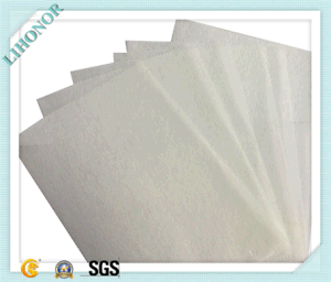 Flame Resistance Thermo-Bonded Nonwoven Fabric pictures & photos