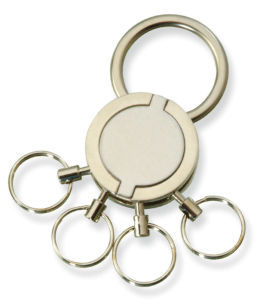 Hot-Selling Personality Multiple Ring Metal Keychain pictures & photos