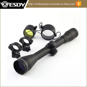 Black 4X40 Crosshair Sniper Hunting Tactical Rifle Scope Free Mounts39 pictures & photos