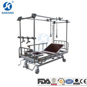 Stainless Steel Double Column Orthopaedic Traction Bed