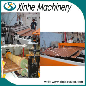 PVC Roof Tiles Making Machinery/ Coloured Three Layer Tile/Inner Foaming Extrusion Line pictures & photos