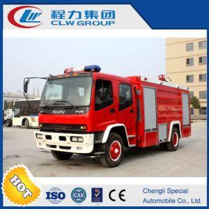 Isuzu Fire Truck 4X2, 7000L, 240HP Isuzu Engine pictures & photos