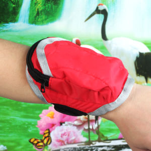 Women′s Handbags Sports Nylon Wrist Pouch Bags for Smartphone pictures & photos