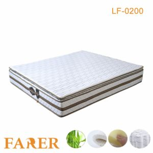 High Elastic Nature Made Latex Mattress for Bedroom Furniture pictures & photos