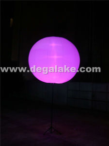 LED Lighting Inflatable Standing Ball for Advertising or Decoration pictures & photos