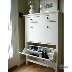 Living Room Steel White Shoe Store Display Racks pictures & photos