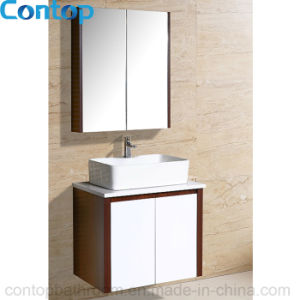 Modern Home Solid Wood Bathroom Cabinet 039 pictures & photos