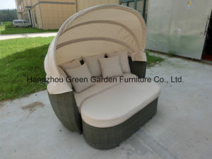 Sun Lounge Rattan Daybed Outdoor Furniture pictures & photos