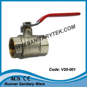 Brass Fixed Ball Valve (V20-001) pictures & photos