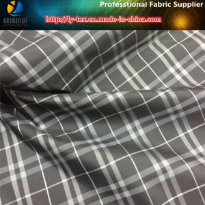 Grey/White Yarn Dyed Fabric in Polyester Woven Calender for Garment (YD1034) pictures & photos