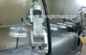 Aluminium Wheel Hub Robotic Painting Line pictures & photos