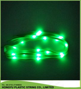 Factory LED Shinning Light up Shoelace pictures & photos