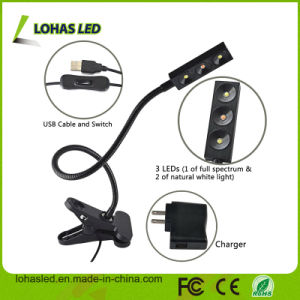 3W USB Full Spectrum LED Plant Light pictures & photos