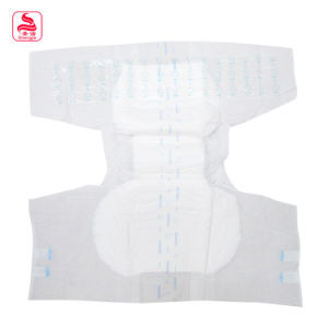 Promotion Good Quality Printed 100% Cotton Arc Shape Washable Baby Diaper pictures & photos