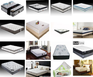 8-Inch Green Tea Infused Memory Foam Mattress pictures & photos