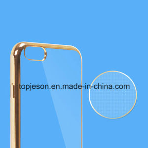 Transparent Electroplated TPU Soft Case for iPhone 6 pictures & photos