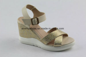 New Design Wedge Sandal Women Fashion Shoes pictures & photos