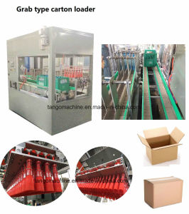 Automatic Pet Bottle Glass Bottle Carton Former Grab Type Carton Packing Carton Sealer 5carton/M 10carton/M Packaging Machine pictures & photos