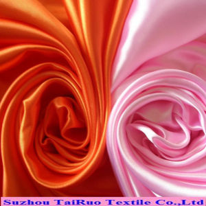 Poly Stretch Satin with Good Quality Supplier for Garment pictures & photos