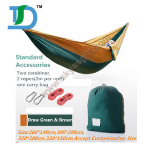 New Design Printed Logo Double Camping Hammock pictures & photos