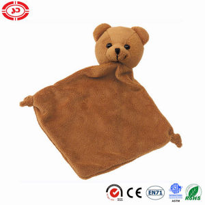 Bear Baby Soft Plush Blanket En71 with Teether Toy pictures & photos