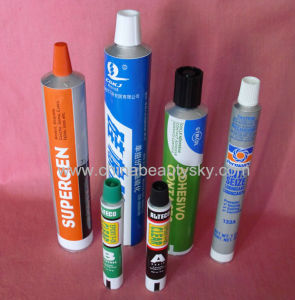 Glues Packaging Adhesives Shoeshine Cream Empty Aluminum Tubes pictures & photos