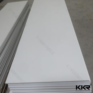 12mm White Wall Panel Modified Acrylic Solid Surface pictures & photos