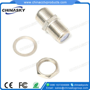 CCTV Screw Nut F Female to F Female Plug Connector (CT105) pictures & photos