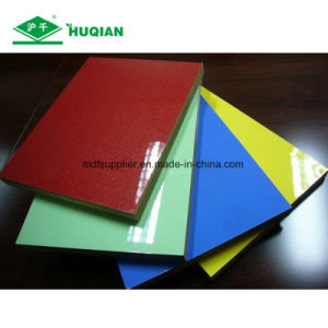 Good Quality UV Melamine MDF with 1220*2440*18mm Size pictures & photos