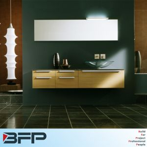 Wall Mounted Wood Grain Vanity pictures & photos