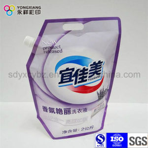 Laminated Stand up Laundry Detergent Doypack Bag pictures & photos