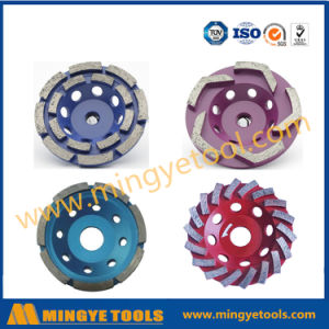 Diamond Tools Soft Body Diamond Cup Wheel for Marble and Granite pictures & photos