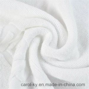 100% Cotton Custom Woven Embossed Jacquard Logo Hotel Hand Towel pictures & photos