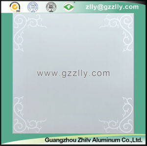 Decorative Frosted Ceiling Panel with Flower Pattern -Harmonious Spring pictures & photos