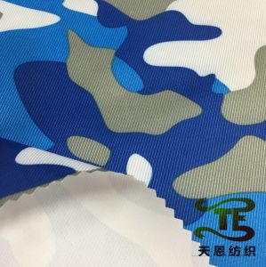 Repreve Tag Recycled Twill Printed Fabric for Garment or Children Garment pictures & photos