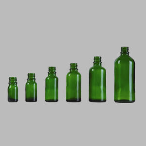 Green Glass Essential Oil Bottle with Dropper (NBG04) pictures & photos